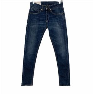 Dondup Georg Button Fly Skinny Fit Jeans